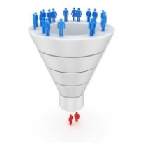 small business funnel graphic