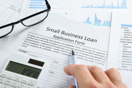 Small Business Loan form